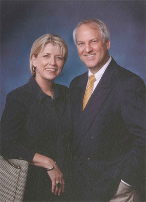 Dr. Roger Baker and his wife